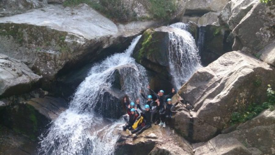 Gorges canyoning Cévennes