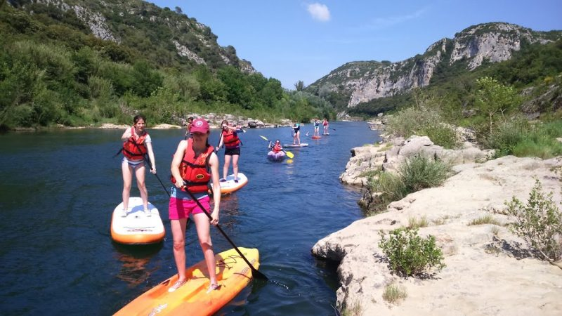 Initiation Paddle sur le Gardon