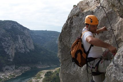 Via ferrata falaise gard