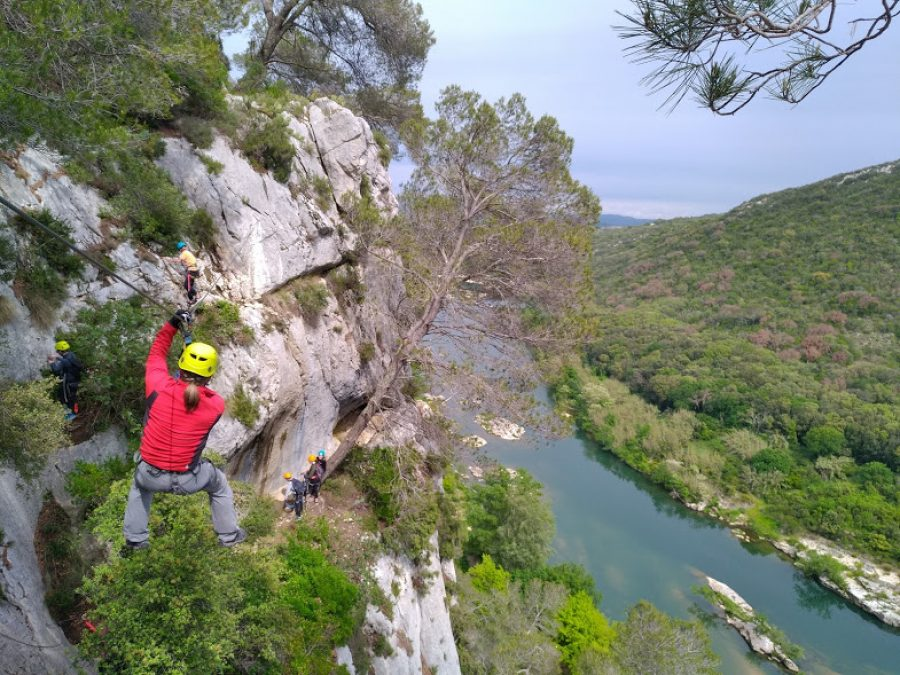 Weekend discovery via ferrata