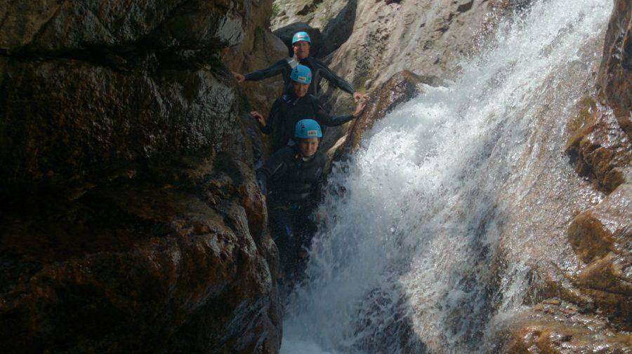 Canyoning et traversée des cascade