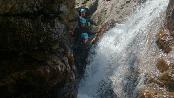 Canyoning et traversée des cascades