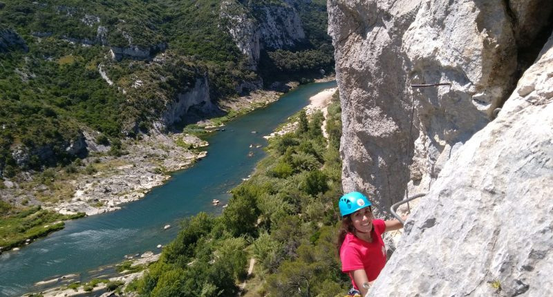 Via ferrata Collias pont du gard