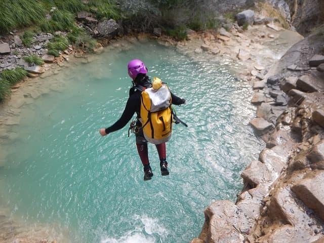 Découvrir le Canyoning dans le Gard