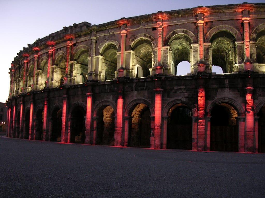 Les arènes de Nîmes pour un week-end